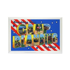 Camp Blanding Florida Rectangle Magnet (10 pack)