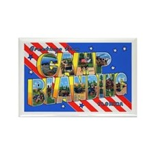 Camp Blanding Florida Rectangle Magnet