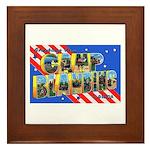 Camp Blanding Florida Framed Tile