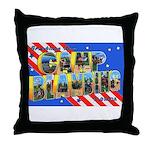 Camp Blanding Florida Throw Pillow