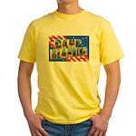 Camp Blanding Florida Yellow T-Shirt