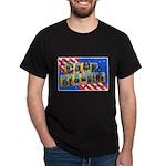 Camp Blanding Florida (Front) Black T-Shirt