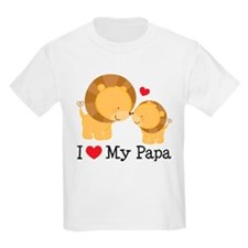 I Heart My Papa T-Shirt