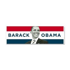 Barack Obama (Red, White Blue with Image) Car Magn
