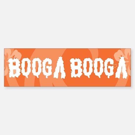 Booga Booga Sticker (Bumper)