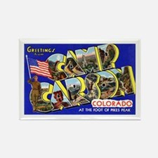 Camp Carson Colorado Rectangle Magnet