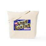 Camp Carson Colorado Tote Bag
