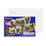 Camp Carson Colorado Greeting Cards (Pk of 10)