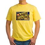 Camp Carson Colorado Yellow T-Shirt