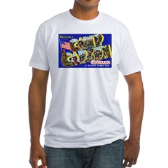 Camp Carson Colorado Fitted T-Shirt