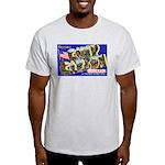 Camp Carson Colorado (Front) Ash Grey T-Shirt