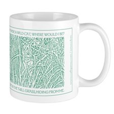 Cat in Tall Grass Mug