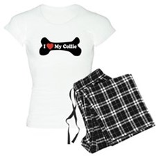 I Love My Collie - Dog Bone Pajamas