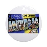 Camp Chaffee Arkansas Ornament (Round)