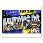 Camp Chaffee Arkansas Small Poster