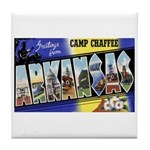 Camp Chaffee Arkansas Tile Coaster
