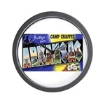 Camp Chaffee Arkansas Wall Clock