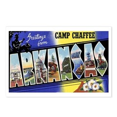 Camp Chaffee Arkansas Postcards (Package of 8)