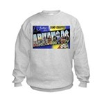 Camp Chaffee Arkansas (Front) Kids Sweatshirt