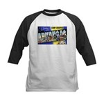Camp Chaffee Arkansas Kids Baseball Jersey