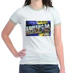 Camp Chaffee Arkansas Jr. Ringer T-Shirt