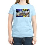 Camp Chaffee Arkansas Women's Pink T-Shirt