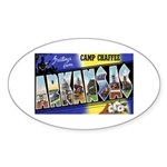 Camp Chaffee Arkansas Oval Sticker
