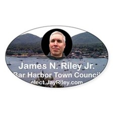 Elect Jay (color) Decal