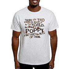 Poppy Funny Grandpa T-Shirt