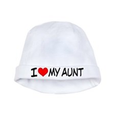 I Love My Aunt Baby Hat