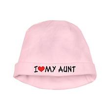 I Love My Aunt Baby Beanie Hat
