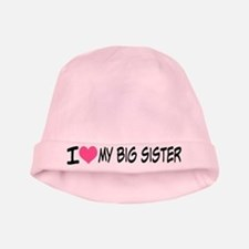 I Heart My Big Sister Baby Hat