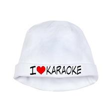 I Heart Karaoke Baby Hat