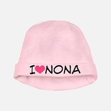 I Heart Nona Pink Baby Beanie Hat Gift