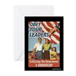 Homeland Insecurity Greeting Cards 10 Pk