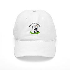 Poppy Golf Cart Baseball Cap