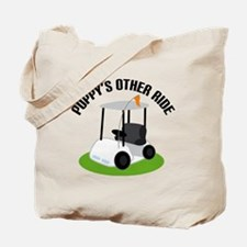 Poppy Golf Cart Tote Bag