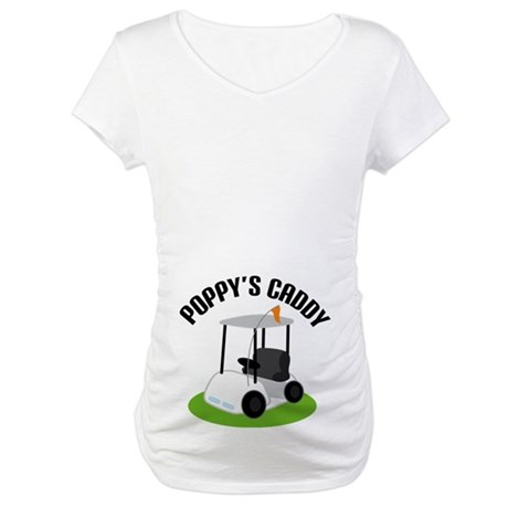 Poppy's Caddy Maternity T-Shirt
