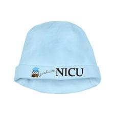 NICU Graduate Blue Baby Beanie Hat