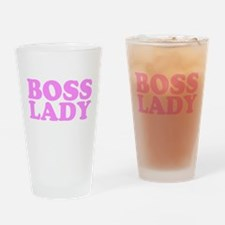 bosslady1rosa.png Drinking Glass
