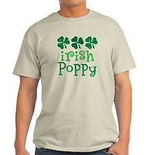 Irish Poppy Grandpa T-Shirt