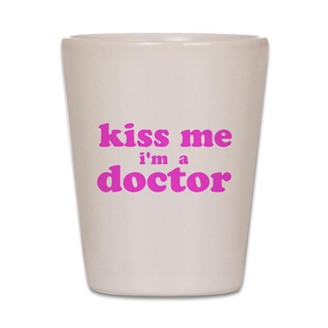 kisstest12pink.png Shot Glass