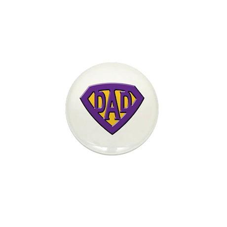 Super-Dad Mini Button (10 pack)