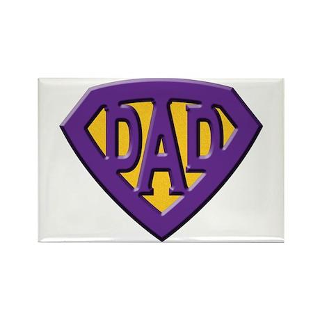 Super-Dad Rectangle Magnet (10 pack)