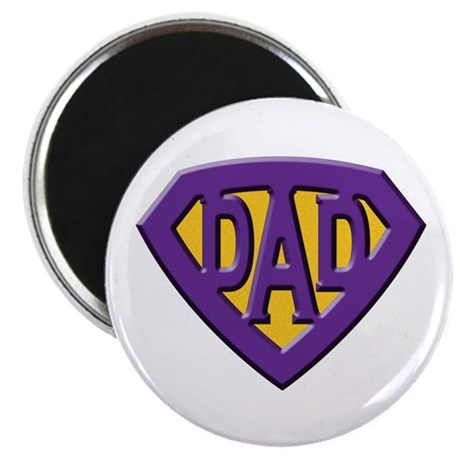 "Super-Dad 2.25"" Magnet (10 pack)"