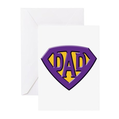 Super-Dad Greeting Cards (Pk of 10)