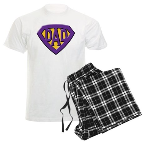 Super-Dad Men's Light Pajamas