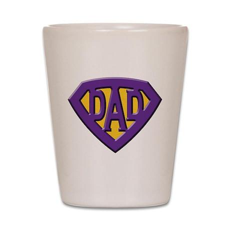Super-Dad Shot Glass