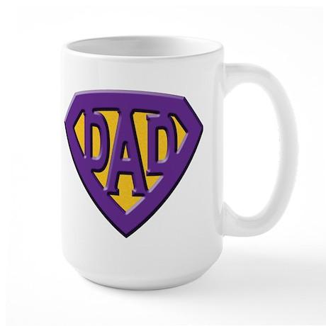 Super-Dad Large Mug