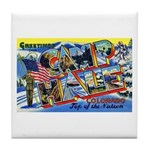 Camp Hale Colorado Tile Coaster